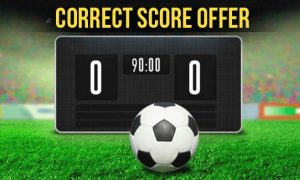 Buy The Correct Score Today
